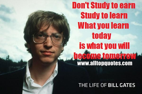 Group Of Bill Gates Quotes Inspiring