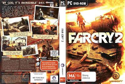 Jogo Far Cry 2 PC DVD Capa