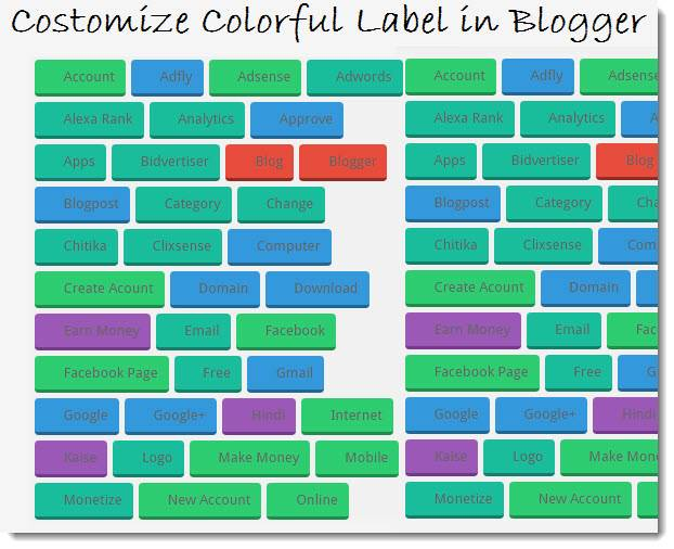 Blogger Me Colorful Label Kaise Use Karte Hai - gyanme