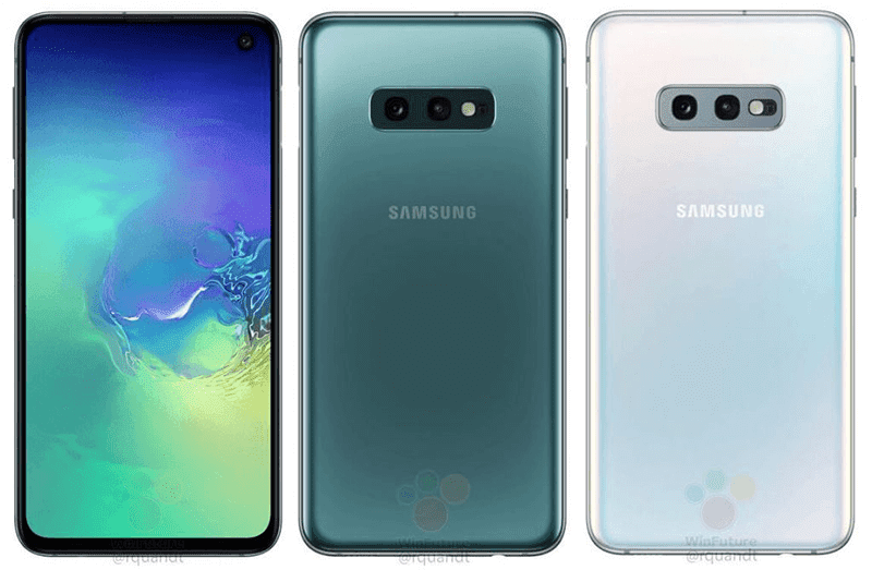 Samsung Galaxy S10E renders appeared online