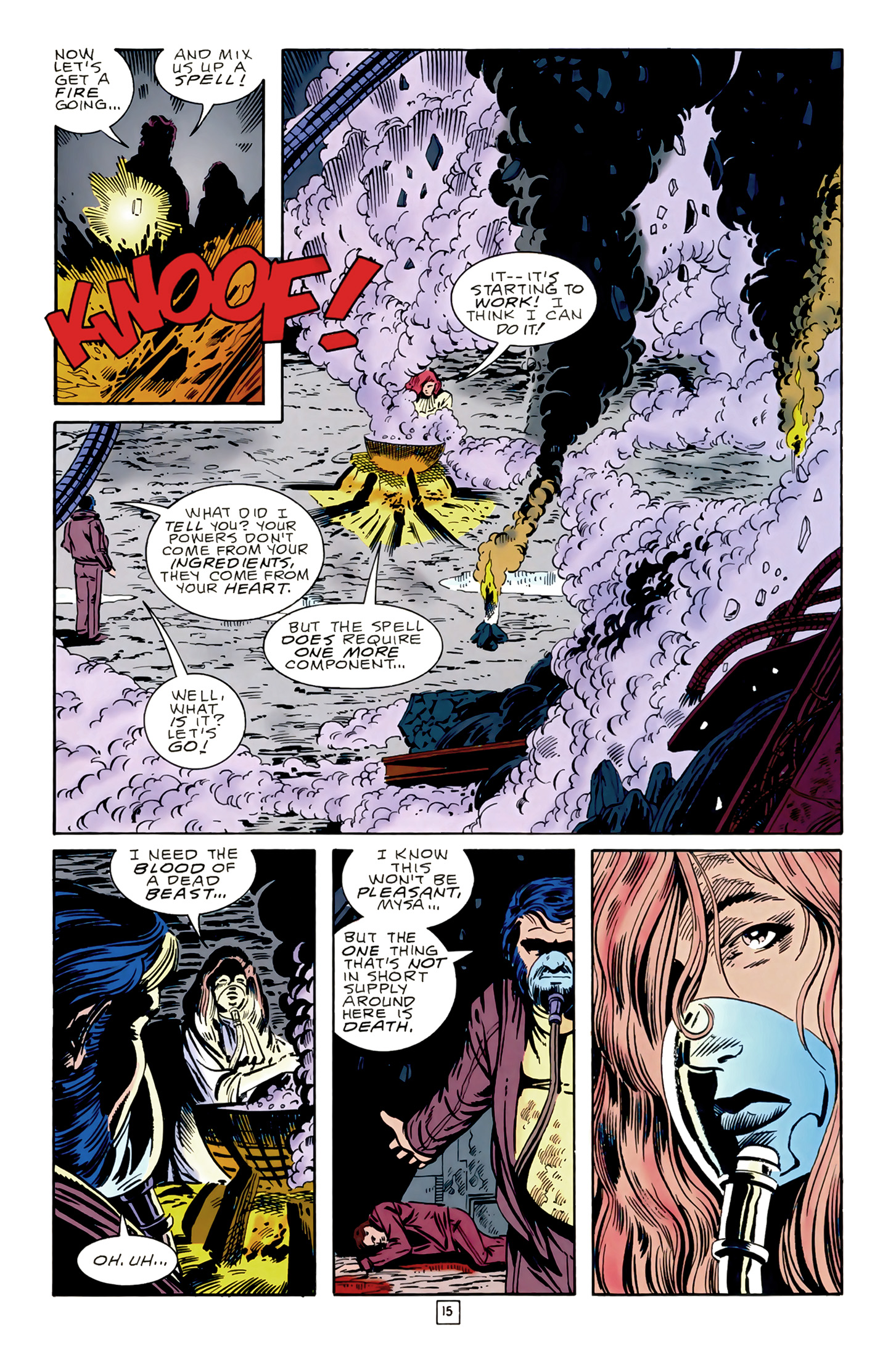 Legion of Super-Heroes (1989) 17 Page 15