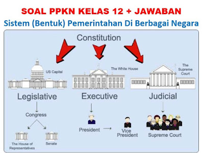 45 Soal dan Jawaban Sistem Pemerintahan Negara (Essay, Pilgan)