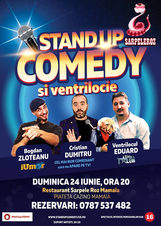 Stand-Up Comedy & Ventrilocie La Mare!
