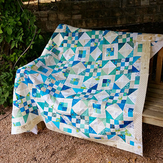 Scrap Jar Stars Quilt Free Tutorial
