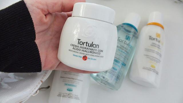 Crema hidratante con ácido hialurónico y sin gluten Tortulan