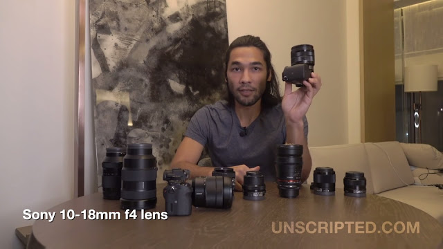 Sony Lenses for Video