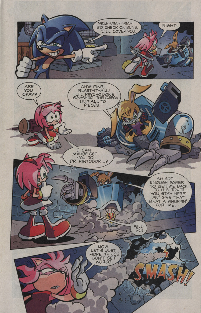 Read online Sonic The Hedgehog comic -  Issue #195 - 5