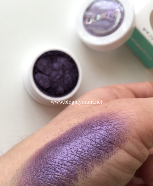 colourpop eyeshadow envy swatch