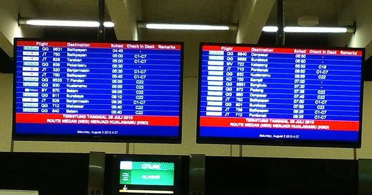 Jadwal Penerbangan Bandara Kualanamu - Pusat Pesawat Terbang