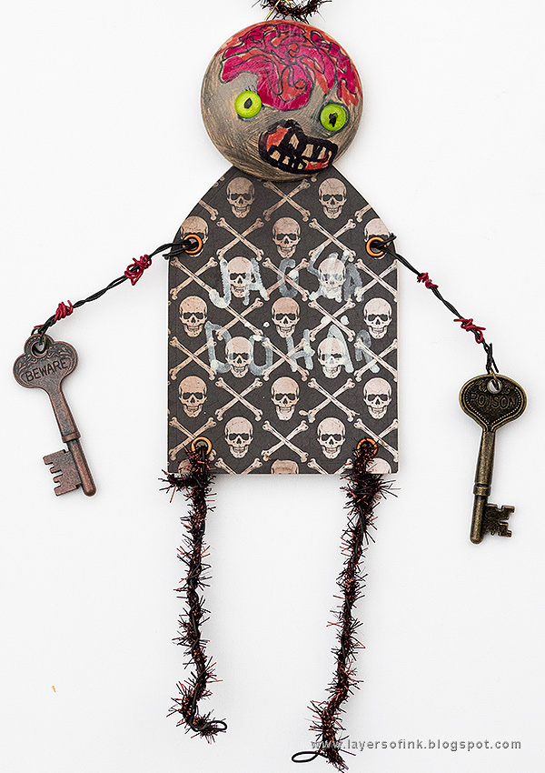 Kids Craft Zombie