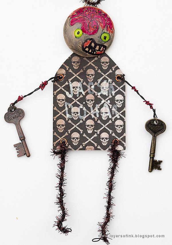 Kids Craft Zombie
