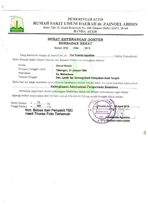 Contoh Surat Resign Dari Rumah Sakit Simak Gambar Berikut