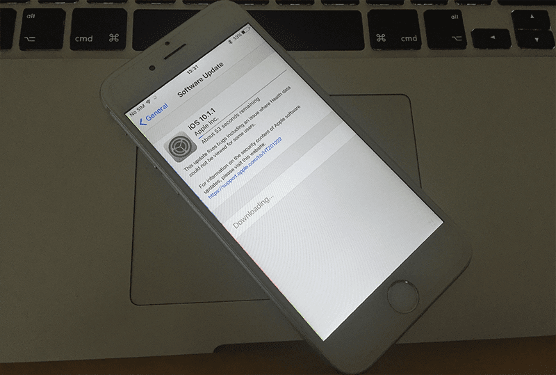 cannot restore iphone 7 from icloud