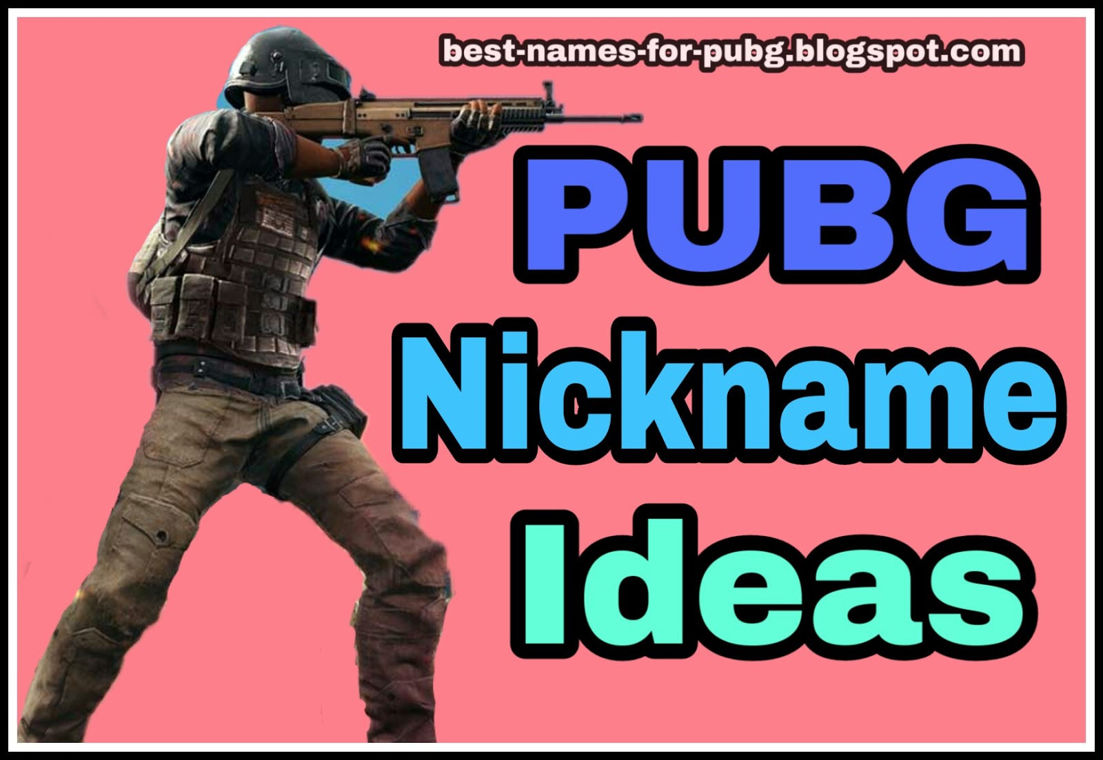 Funny & Cool Best Names for PUBG [*NEW*] PUBG Names Ideas Crew +