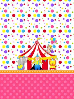 El Circo Especial Niñas: Invitaciones y Etiquetas para Candy Bar para Imprimir Gratis.