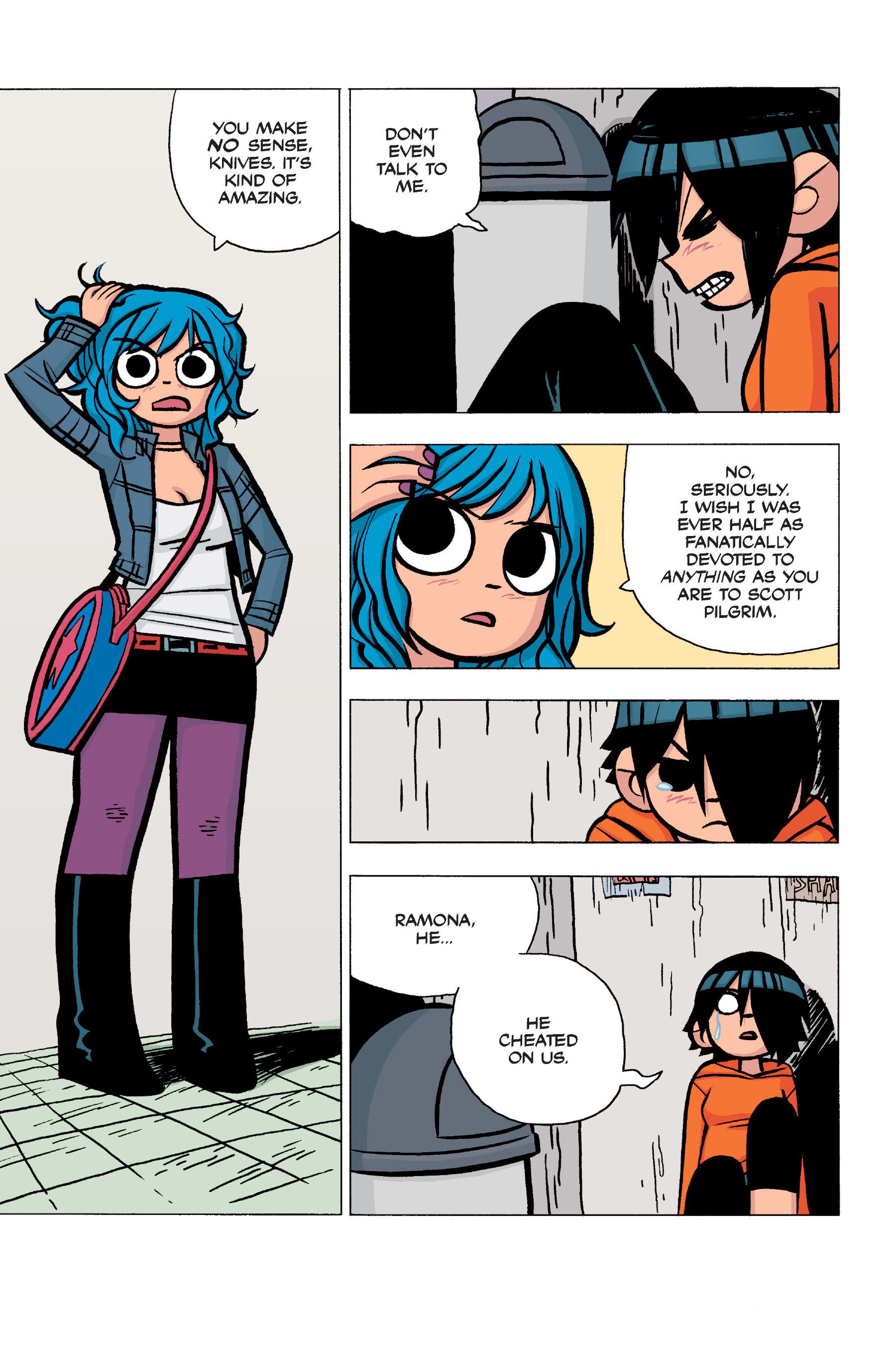 Read online Scott Pilgrim comic -  Issue #5 - 54