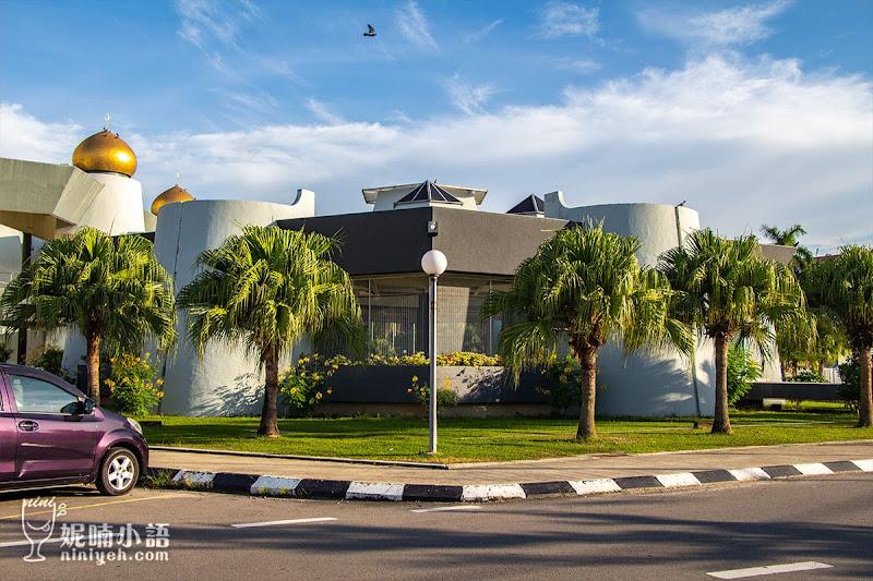 【沙巴亞庇景點】州立清真寺Sabah State Mosque。耗資三億台幣重金打造