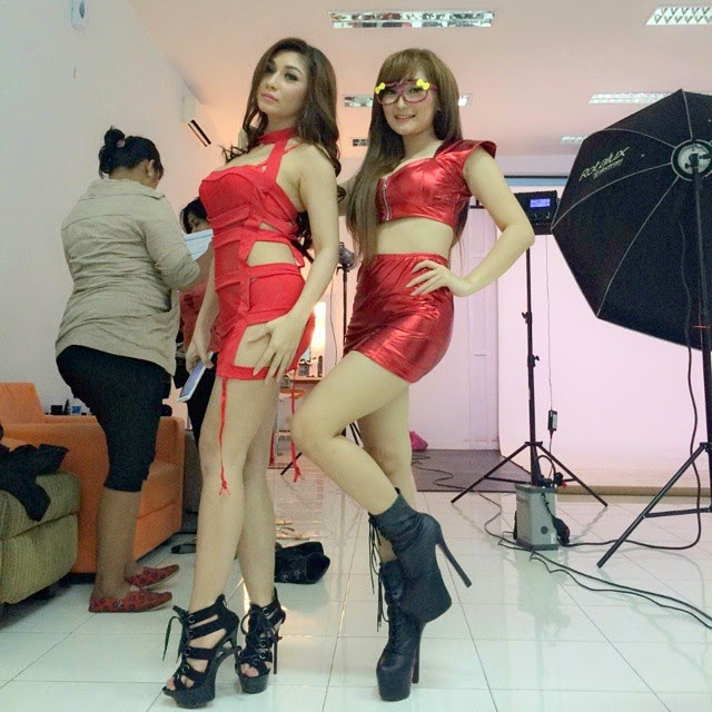 Foto Hot BABY MARGARTHA DAN CHANT FELICIA SAMA SAMA HOT