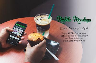Starbucks Malaysia Mobile App Mondays Discount Promo