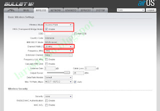 Cara Setting Bullet M2HP Sebagai Access Point-WDS