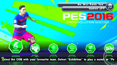 Update Game PES 2016 ISO PPSSPP Patch By JPPV4