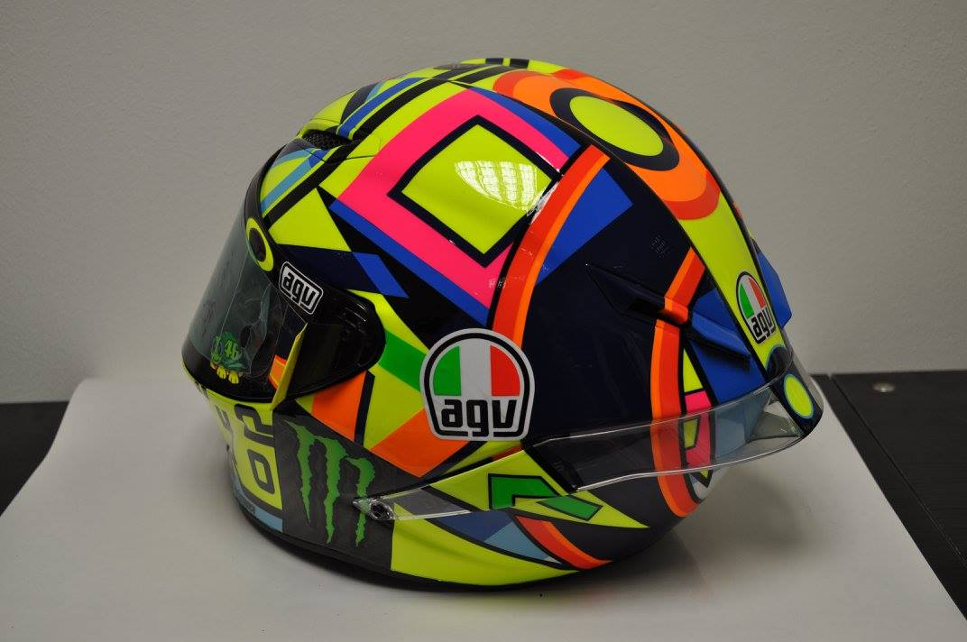 Helm 37 agv pistagp valentino rossi 2016 by drudi for Helm design