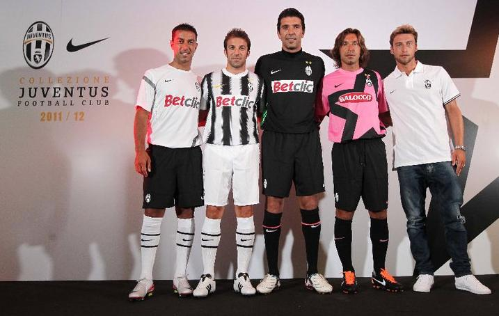 d24938304cc1d Novos uniformes do Juventus