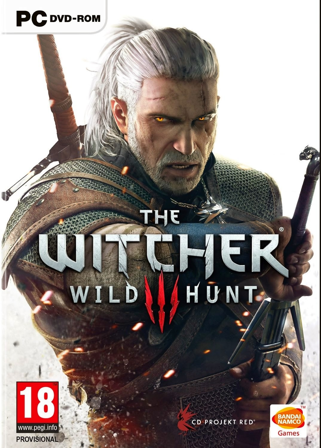 The Witcher 3 Wild Hunt ESPAÑOL PC Full Cover Caratula