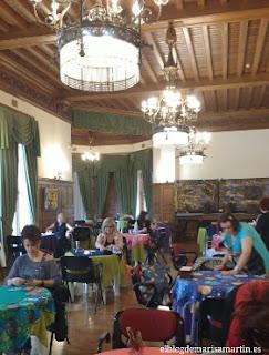 Consultas Palacio de Miramar. Comedor Real