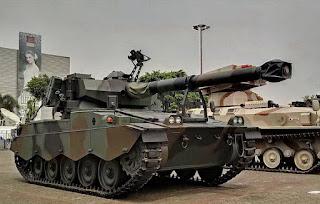 Tank AMX-13 TNI AD