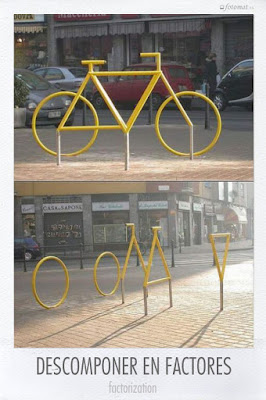 Descomponer en factores tu bicicleta