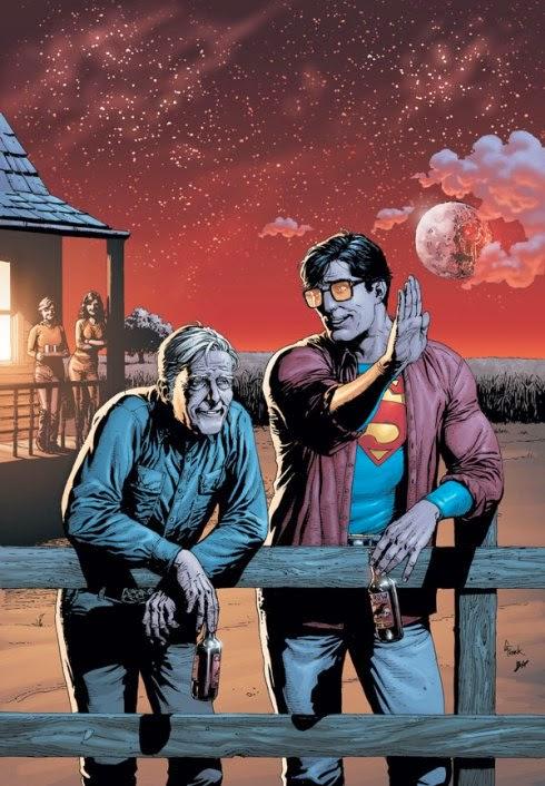 Clark Kent y su Papá
