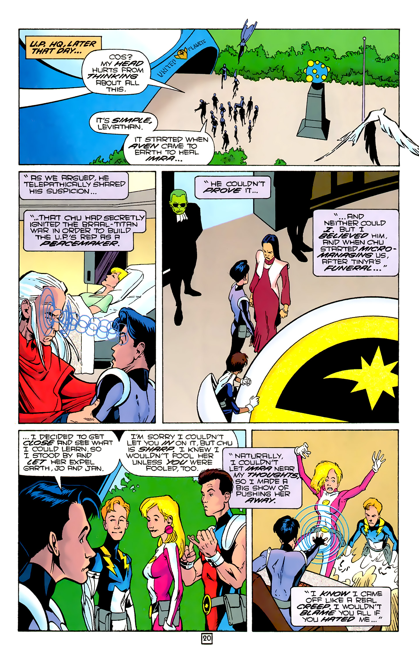 Legion of Super-Heroes (1989) 80 Page 19