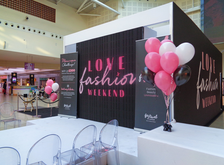 Love Fashion Weekend at Festival Place, Basingstoke