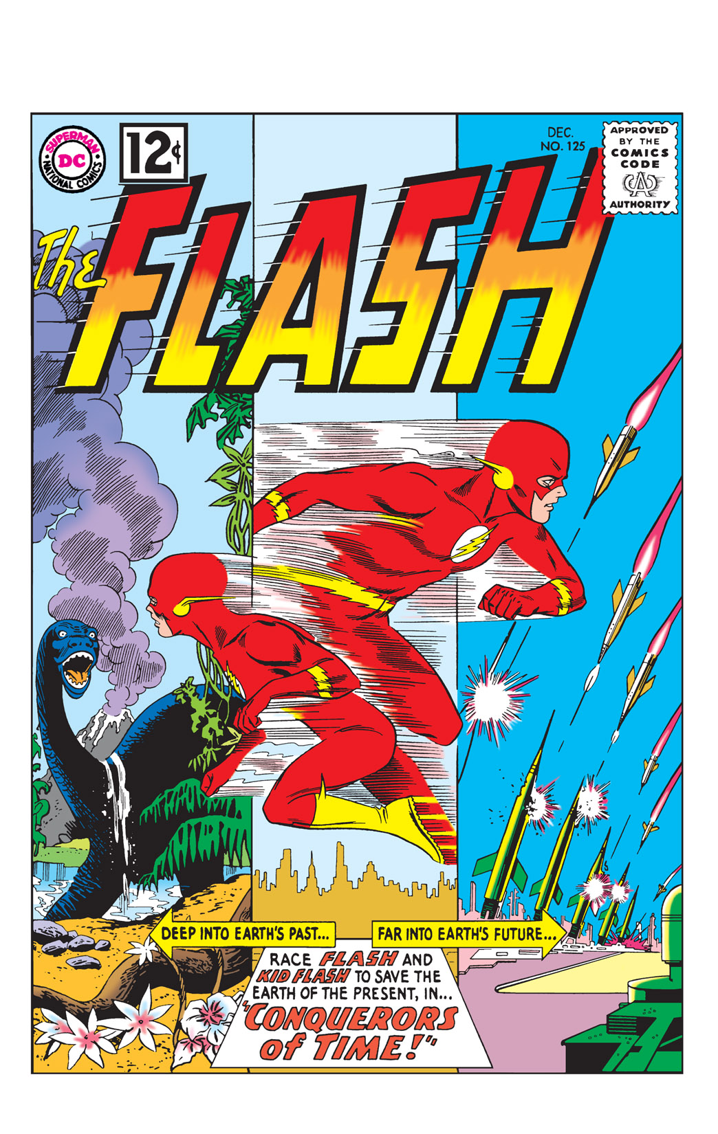 The Flash (1959) issue 125 - Page 1