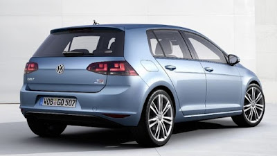 New 2017 Volkswagen Golf Eighth-Gen back view Hd Pictures