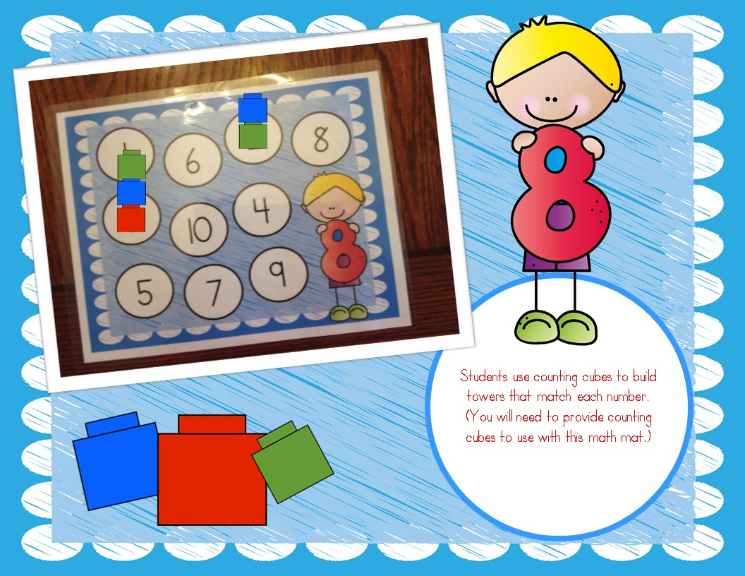 9 Easy Hands On Number Sense Math Centers Numbers 1 10