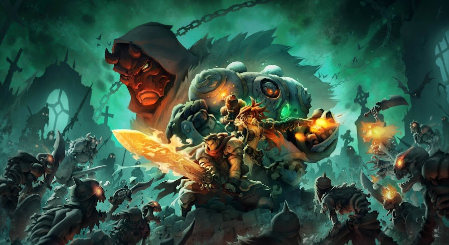 battle chasers nightwar box art