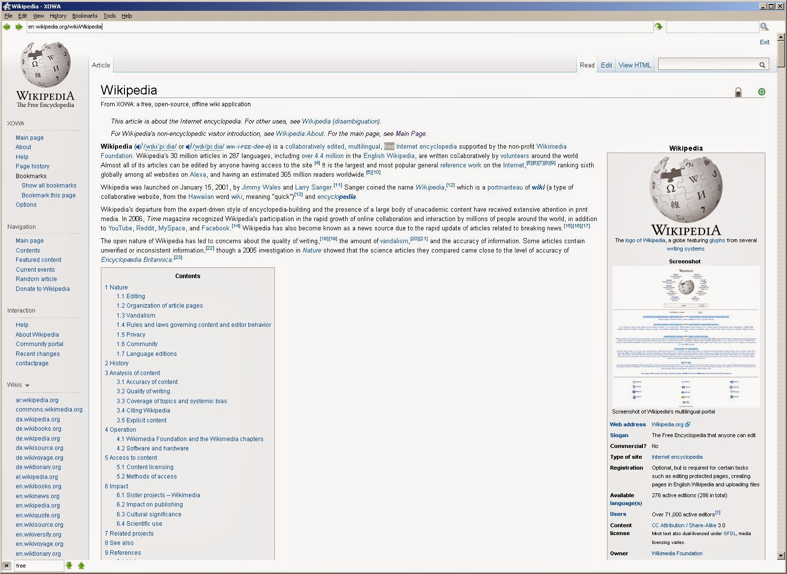 Wikipedia Page Template Pages and 90,000+images.