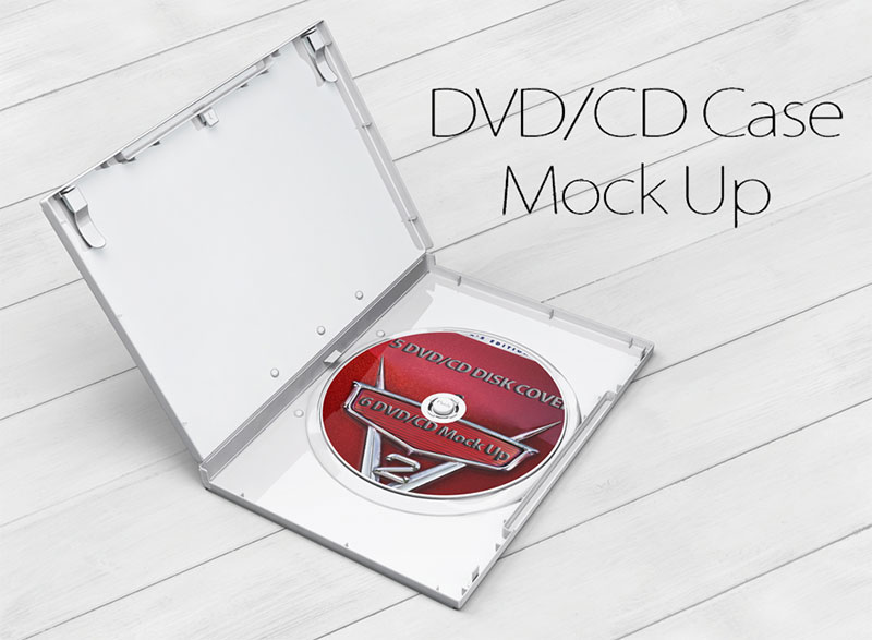 29 Excellent Free CD DVD Covers Mockup PSD