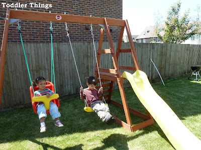 Toddler safety in the garden