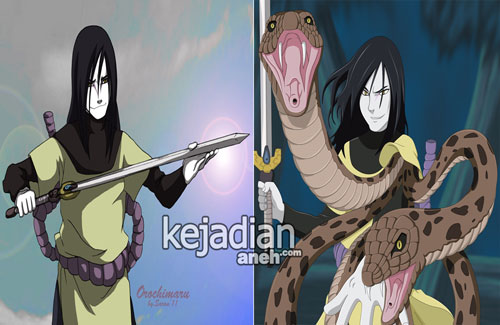 Legenda Pedang Kusanagi Senjata Orochimaru Naruto