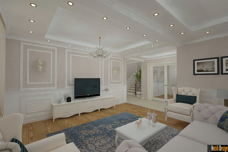 Design interior casa stil clasic in Brasov ~ Firma amenajari interioare Brasov.