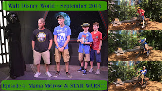 Episode 4: Lunch at Mama Melrose's and a whole lot of Star Wars – Walt Disney World – September 2016