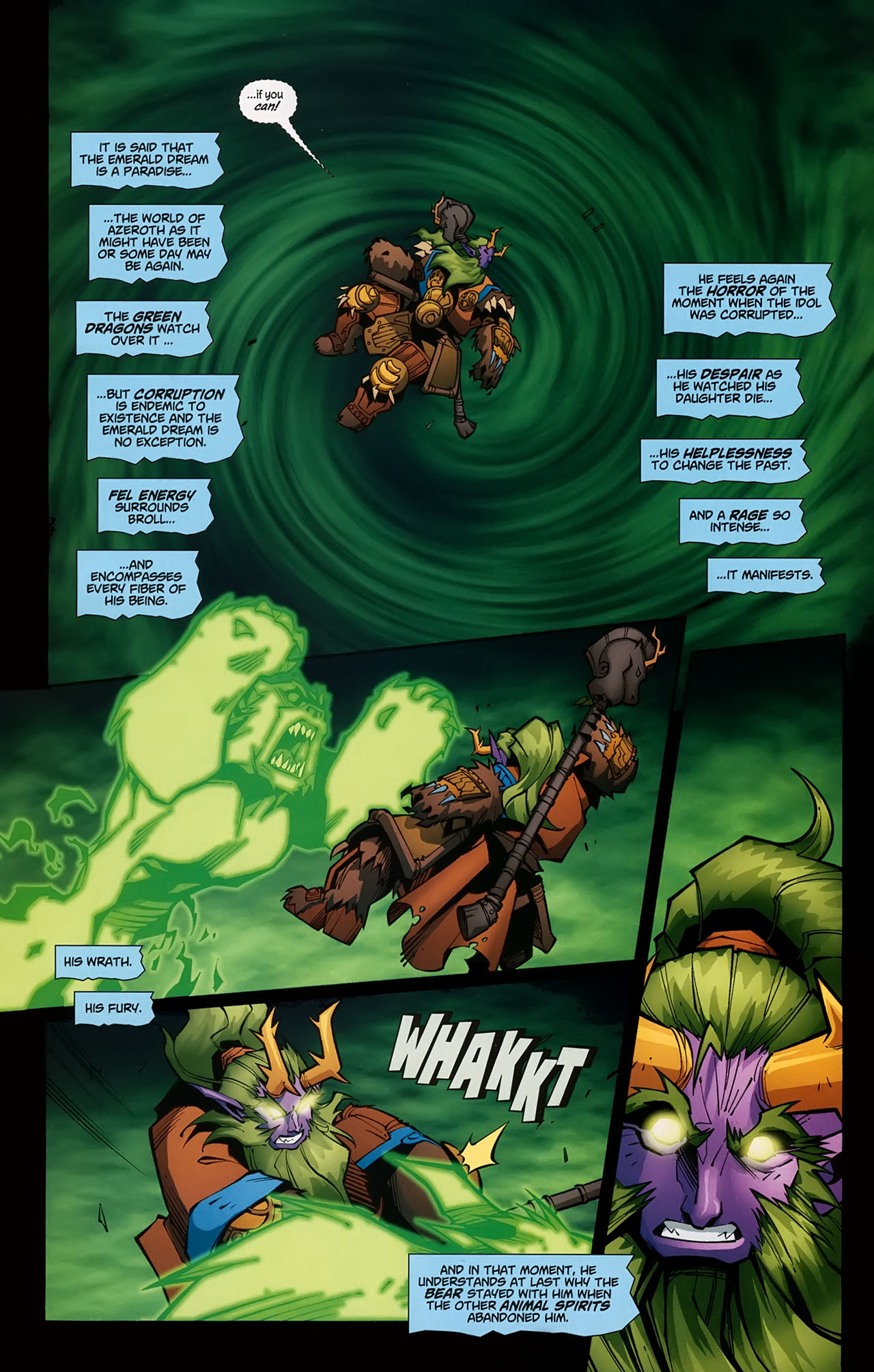 Read online World of Warcraft comic -  Issue #5 - 17