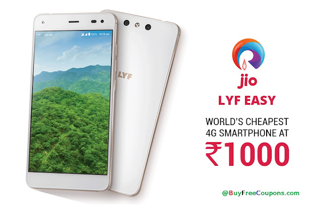 Buy Online Jio lyf Easy Mobile at 1500 Rs January 2019