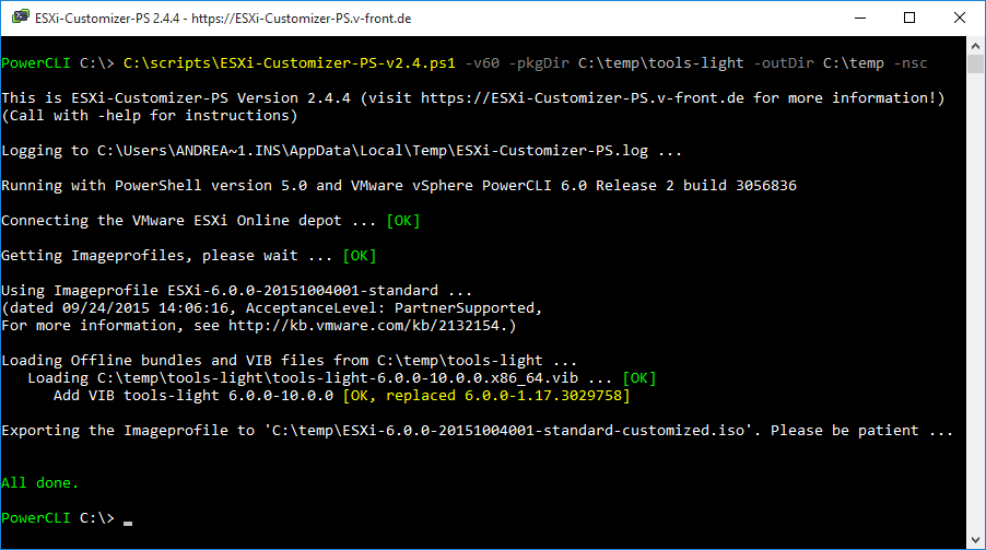 vmware tools 10 2 5