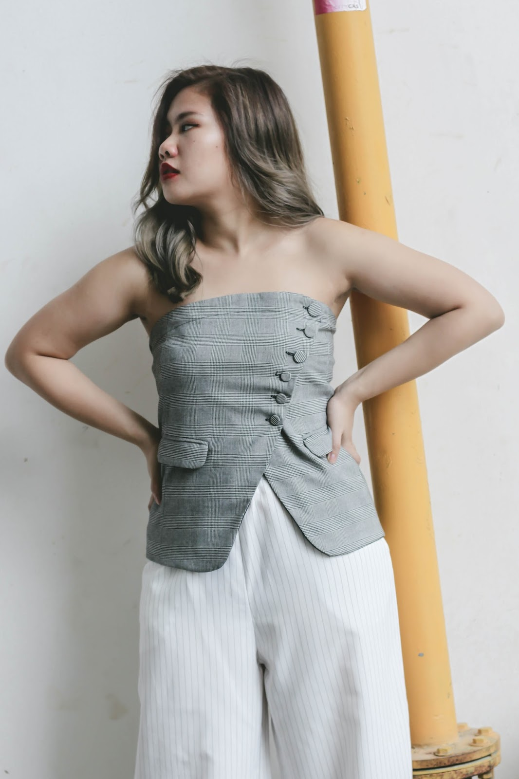 singapore blogger ombre hair ash grey fashion photographer look book street style wiwt ootd