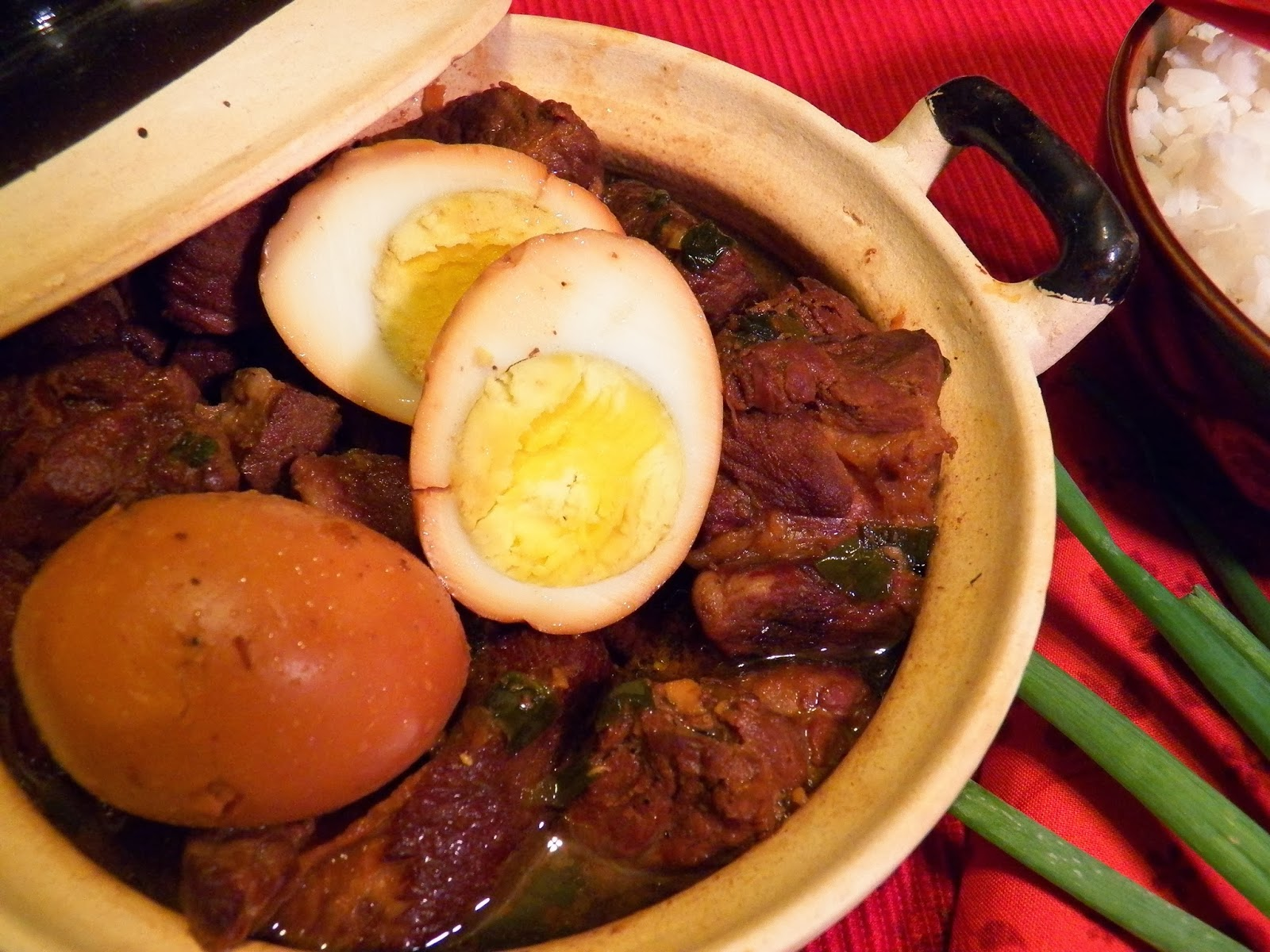 Caramelized Pork and Eggs