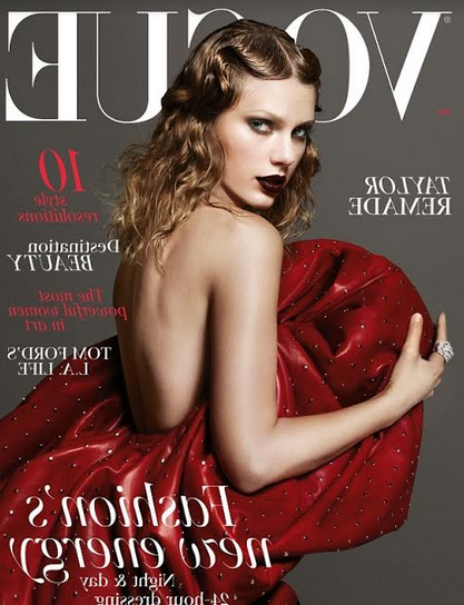 Taylor Swift Covers Latest British Vogue